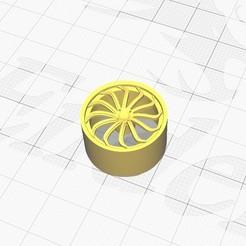 Impresiones 3D gratis Llanta №2 para coches Revell, bullseye2