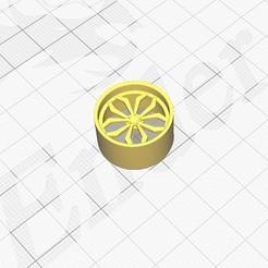Impresiones 3D gratis Llanta 1/24 para coches Revell, bullseye2