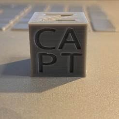 Télécharger fichier impression 3D gratuit Cube d'étalonnage CAPT, captcook