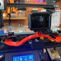 Télécharger STL gratuit Mini poignée CR-10 avec monture gopro, captcook