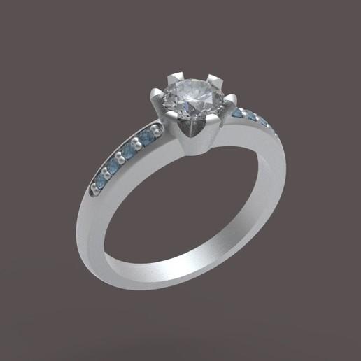 Ring.jpg Télécharger fichier STL gratuit Bague simple 001 • Objet à imprimer en 3D, Golden-Snake