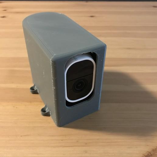Download free STL file Arlo Pro Camera Enclosure • 3D printable design, someonenotajeff