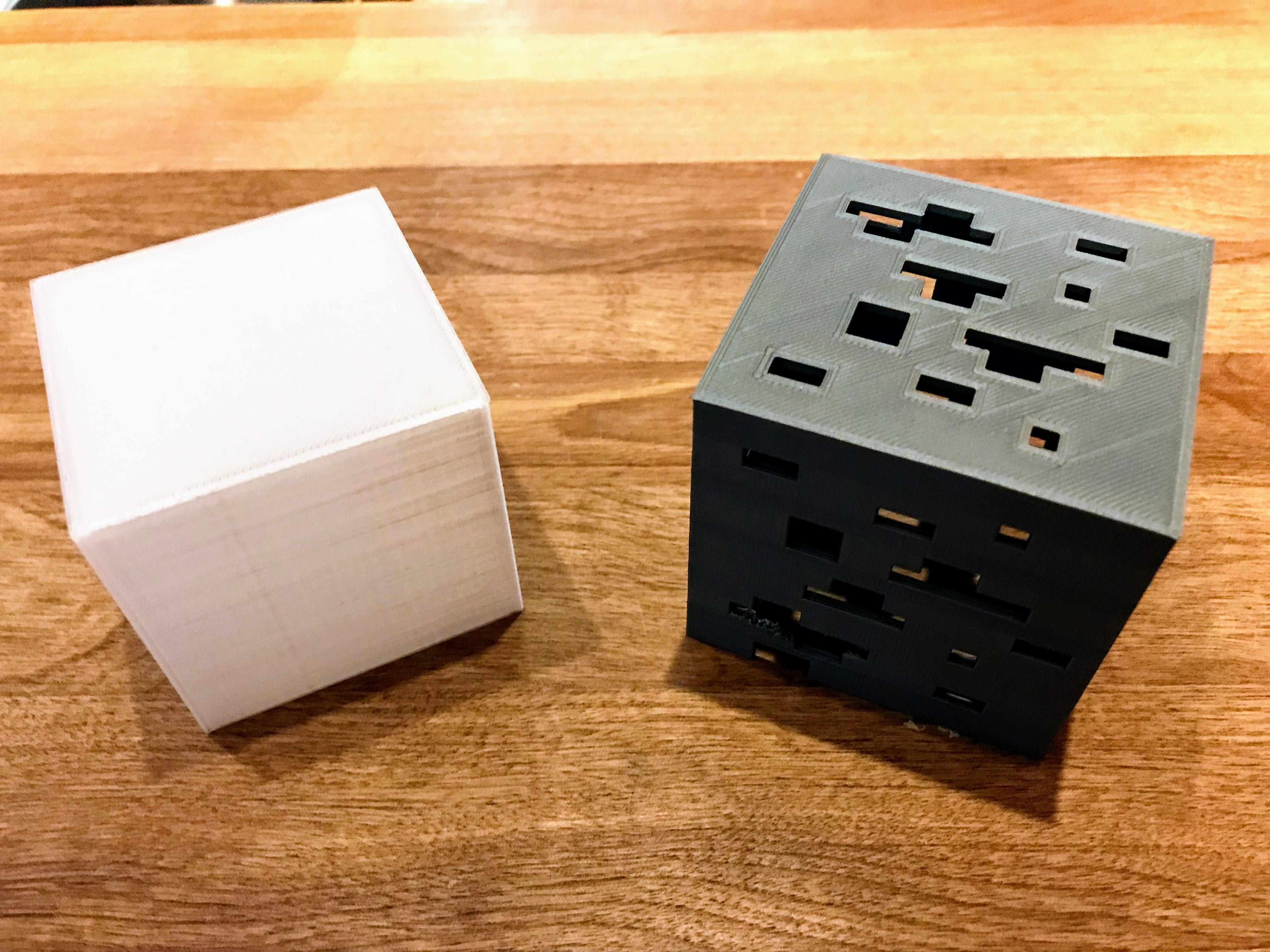 IMG_0179.jpg Download free STL file Minecraft Ore Lamp for Arduino Nano • Template to 3D print, someonenotajeff