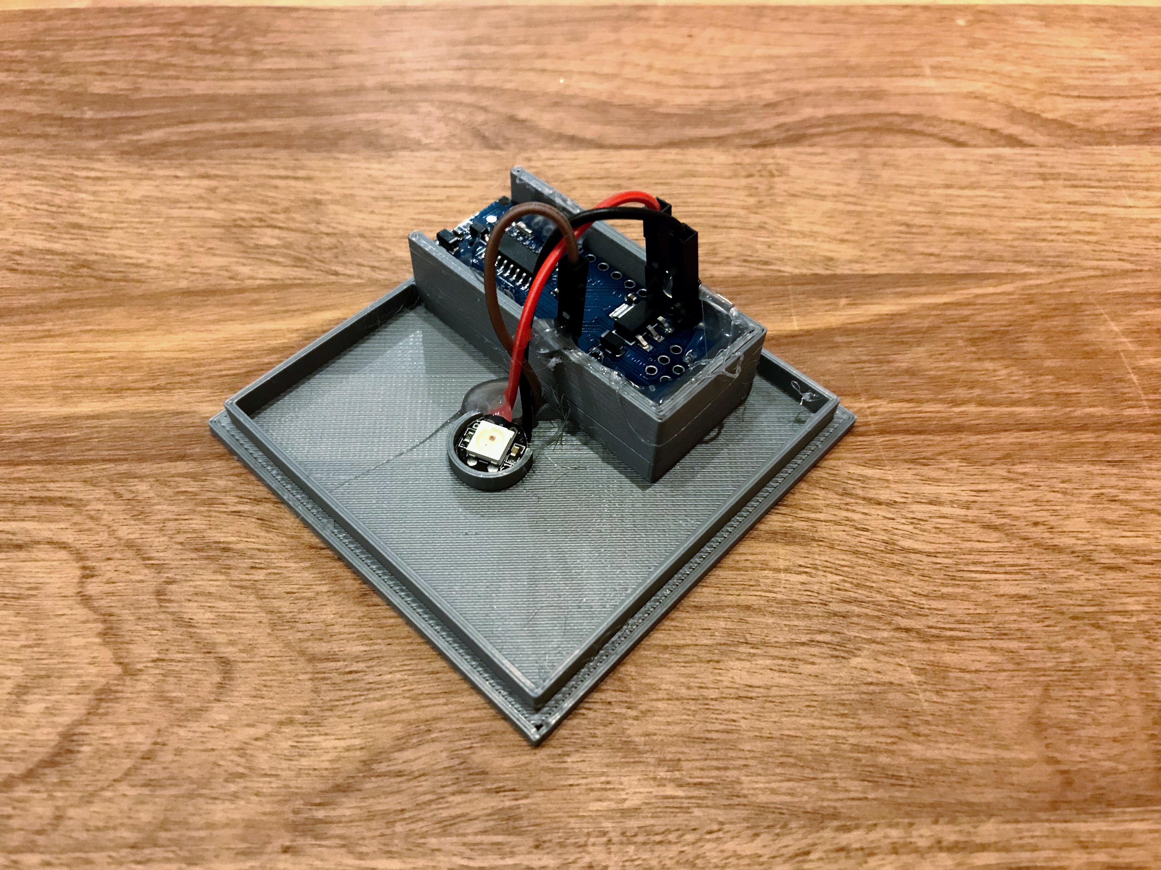 IMG_0178.jpg Download free STL file Minecraft Ore Lamp for Arduino Nano • Template to 3D print, someonenotajeff