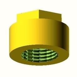 Bouchon_Female-0.jpg Download free STL file BOUCHON FEMELLE O25 (EAU FROIDE) • 3D printable model, hiachm
