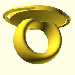 Ring_Size8(0).jpg Télécharger fichier OBJ gratuit Simple Ring • Plan imprimable en 3D, hiachm