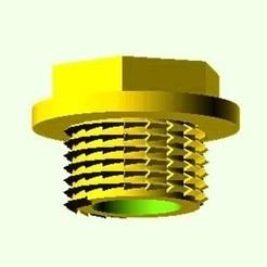 Bouchon_Male-0.jpg Télécharger fichier STL gratuit Bouchon mâle pression O25 (eau froide) • Objet à imprimer en 3D, hiachm