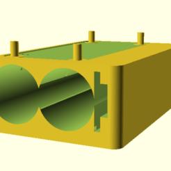 Download free 3D printer files Raspberry Pi Zero (top cover support power), hiachm