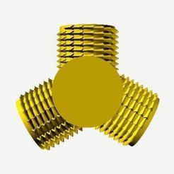 Three way (0).jpg Télécharger fichier STL gratuit Raccord Type Y • Plan pour imprimante 3D, hiachm