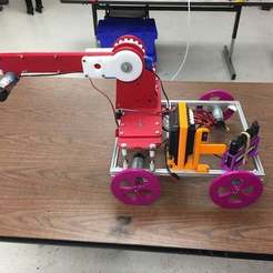 Download free STL FTC REV Expansion Hub Mount, theev123