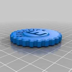 Download free STL file Ev's Maker Coin • Template to 3D print, theev123