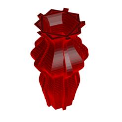 Descargar archivos STL Jarrón 5-23, fiftikred