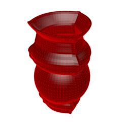 Télécharger fichier imprimante 3D Vase 8-14, fiftikred
