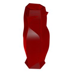 Descargar diseños 3D Jarrón 9-6, fiftikred