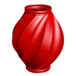 Impresiones 3D Jarrón 41-2020, fiftikred