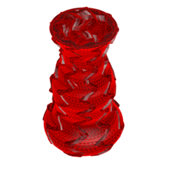 Download 3D printing templates Vase 5-7, fiftikred