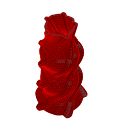 Download 3D printing templates Vase 8-4, fiftikred