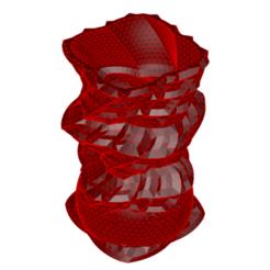 Imprimir en 3D Jarrón 8-28, fiftikred