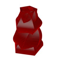 Descargar modelos 3D para imprimir Jarrón 9-21, fiftikred