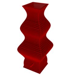 Download 3D printer templates Vase 9-4, fiftikred