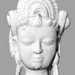 Lakshmi.PNG Download STL file Indian_Goddess • 3D printable model, matth22