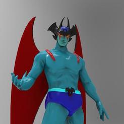 Télécharger plan imprimante 3D Devilman TV anime, cosmou