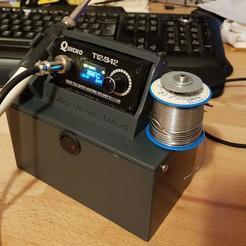 Télécharger fichier impression 3D gratuit Station de soudage mobile - Quicko T12-942, KampfHund