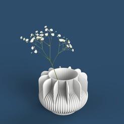 9.jpg Télécharger fichier STL gratuit pot de fleur/vase • Plan pour impression 3D, emacoa