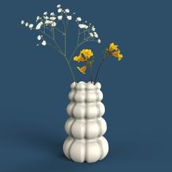 12.jpg Download free STL file FLOWERPOT/VASE • 3D printer object, MOCURA3D