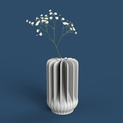 untitled.146.jpg Download free STL file FLOWERPOT/VASE • 3D printer object, emacoa
