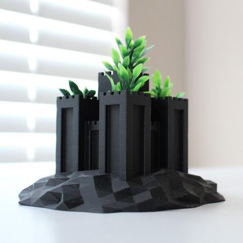 Download free 3D printer files Castle Planter, AlexT1