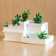 Download free 3D printing models Modern Architecture Planter, AlexT1
