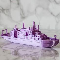 resize-boat7-square.jpg Télécharger fichier STL gratuit Navire de recherche • Design à imprimer en 3D, AlexT1