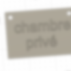 Download free 3D printer templates signboard panel displays 3d, roberbabaon2