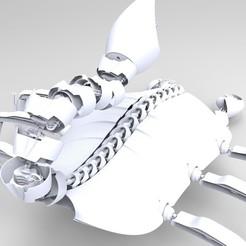 Download 3D printer templates Robotic scorpion., romerofernandonicolas