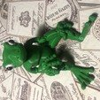 Download free STL file Froggy: the 3D printed ball-jointed frog doll • 3D printing template, slst
