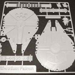 Falcon_01.jpg Download free STL file Millennium Falcon Kit Card by Fixumdude • 3D printing object, fixumdude