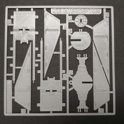 Download free STL file Tie Fighter Interceptor Kit Card • 3D printing template, fixumdude