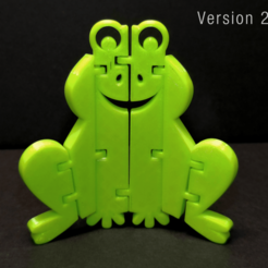 Download free STL file Flexi Articulated Frog • Model to 3D print, fixumdude