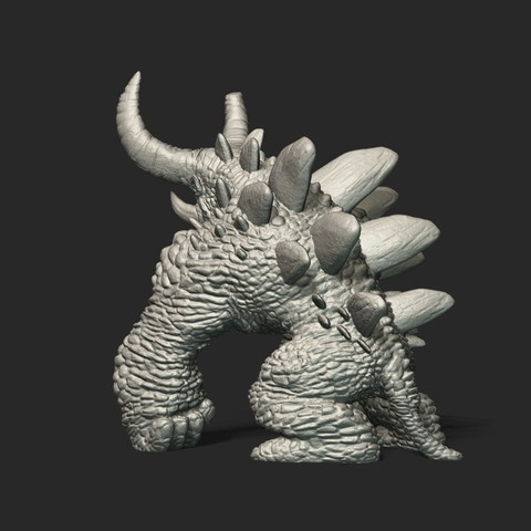 Pic01_3.jpg Download free STL file Monster 3D Printing STL • 3D print design, STEVEN-ART