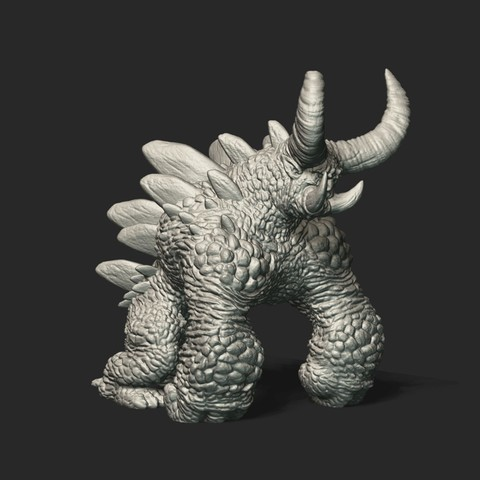 Pic01_1.jpg Download free STL file Monster 3D Printing STL • 3D print design, STEVEN-ART
