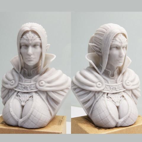 Download 3D model Sorceress 3D Printing STL, STEVEN-ART