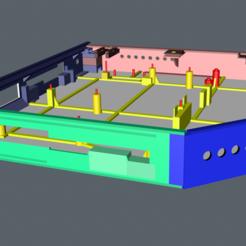 Download free 3D model MSI Laptop Box, rafamillan