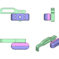 01.jpg Download STL file Garden fence, fence, door handle, door handle. • 3D printer model, Dr_Knut