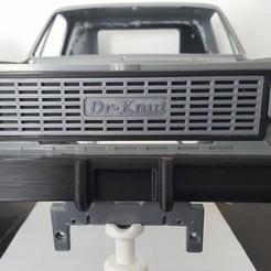 Descargar archivos 3D RC4WD Chevy Blazer Logotipo de la parrilla frontal, Dr_Knut