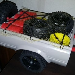 Download 3D printing designs RC4WD Mojave Crawler Scaler Trailer Truck Chassis Trailer Hitch, Dr_Knut