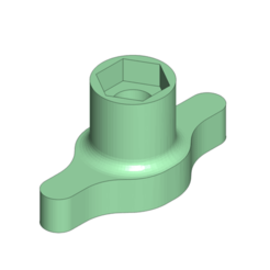Download 3D printing designs HPI / Rovan Baja 5B 24mm Hex Wheel Wrench Tool Z956 Clone, Dr_Knut