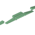 Descargar modelos 3D Puente móvil RC 600 mm para Crawler Scaler Trucks Carros, Dr_Knut