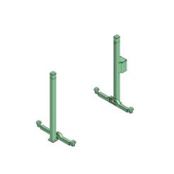 Download 3D print files Scaler Crawler Car Truck 2 Säulen-Hebenbühne / two column lift, Dr_Knut