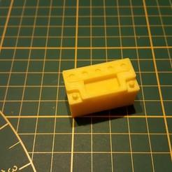 20180307_153152.jpg Download STL file Scale 1/10 Batterie Scaler Crawler Trucks Cars 12V 100Ah • 3D printable model, Dr_Knut